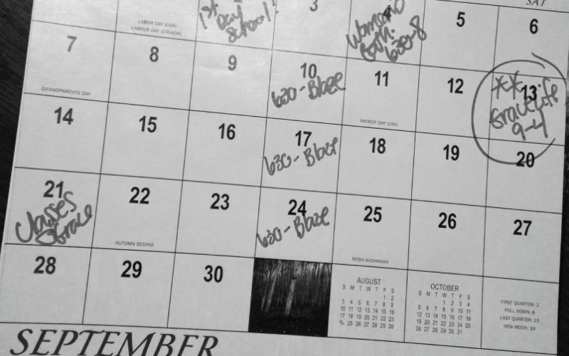 Fall Kick-off Dates