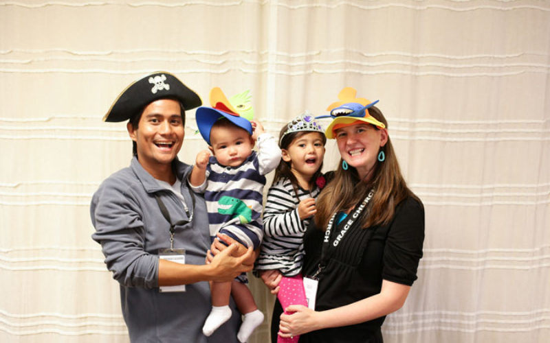 Photo Booth Fun from the Grace Life Conference!