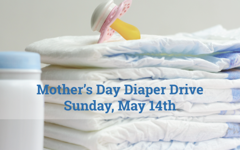 Mother's Day Diaper Drive