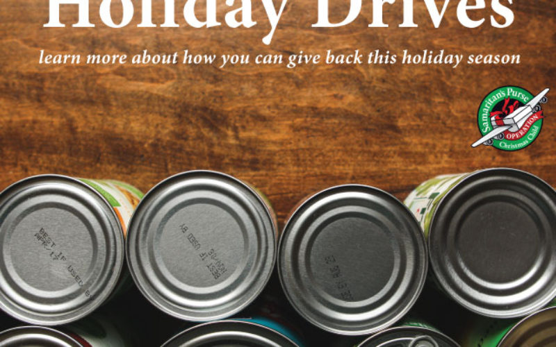 Holiday Drives