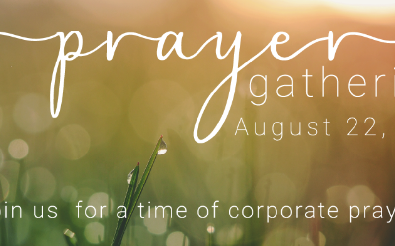 When We Gather To Pray…